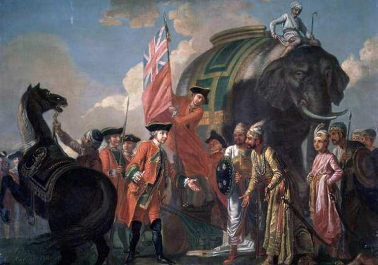 Mir Jafar betrayed Nawab Shiraj-ud-daula at battle of Plassey - Mythical India