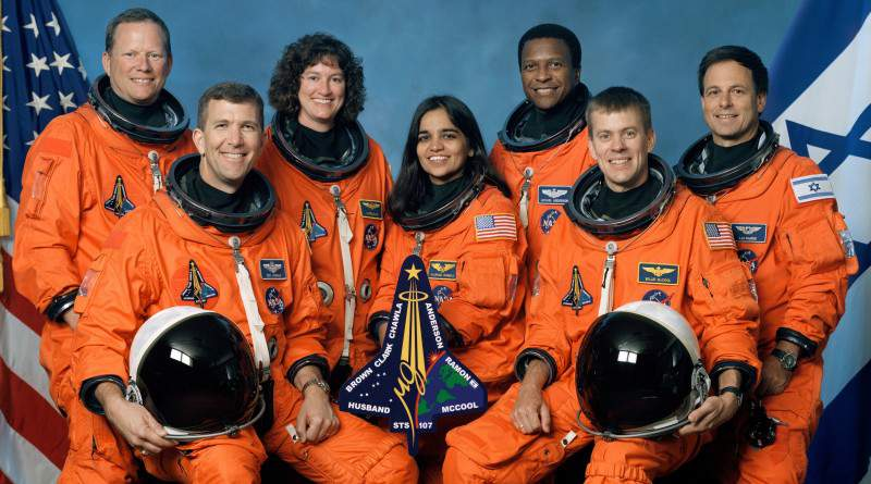 Crew_of_STS-107,NASA, Kalpana Chawla - Mythical India