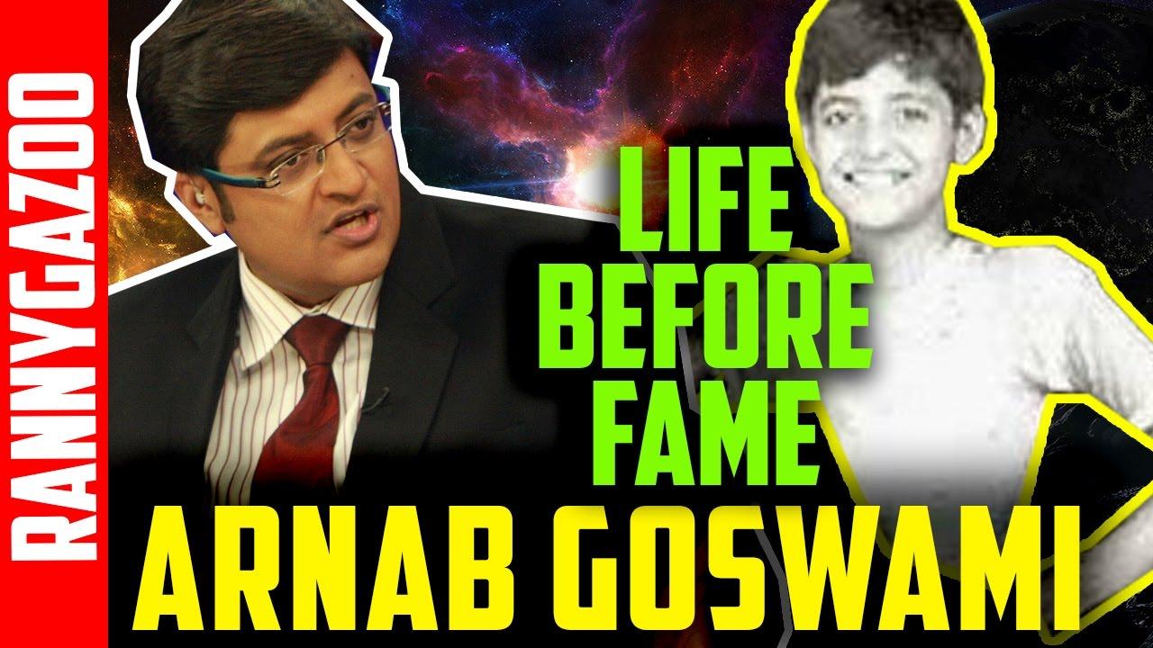 Arnab goswami biography
